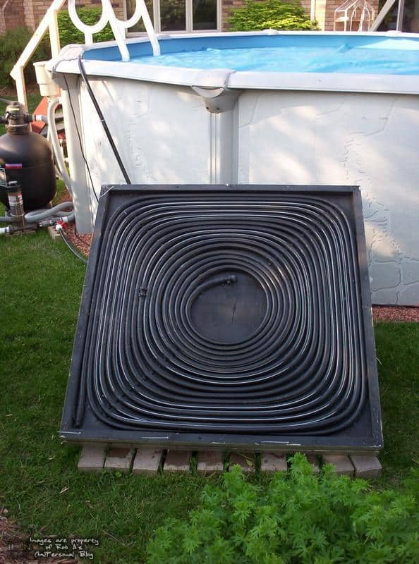 <strong>Plywood and Irrigation Hose Solar Heater</strong>