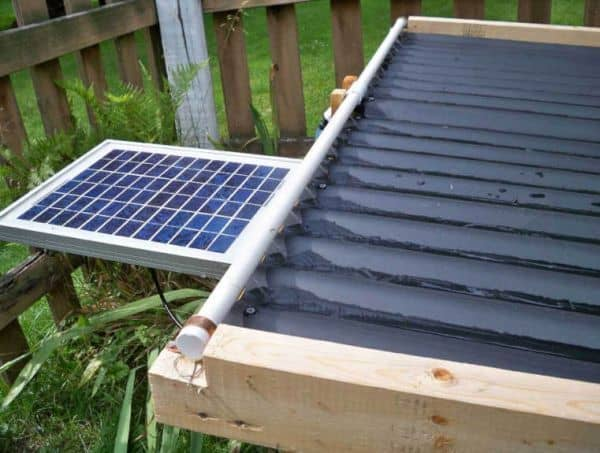 <strong>Easy to Build Solar Heater</strong>