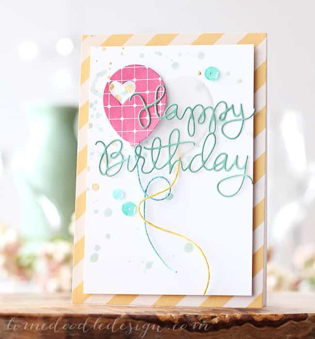 Fancy Birthday Card