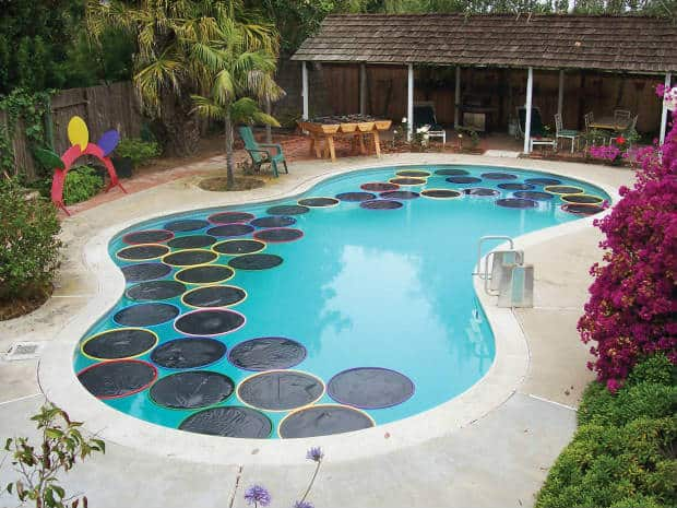 <strong>Hula Hoop Floating Solar Heaters</strong>
