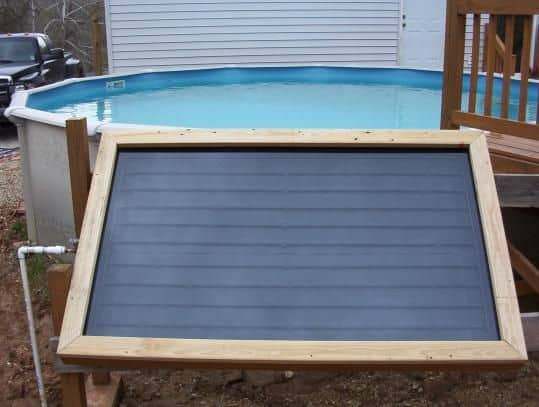 <strong>Upcycled Sliding Glass Door DIY Solar Panel and Heater</strong>