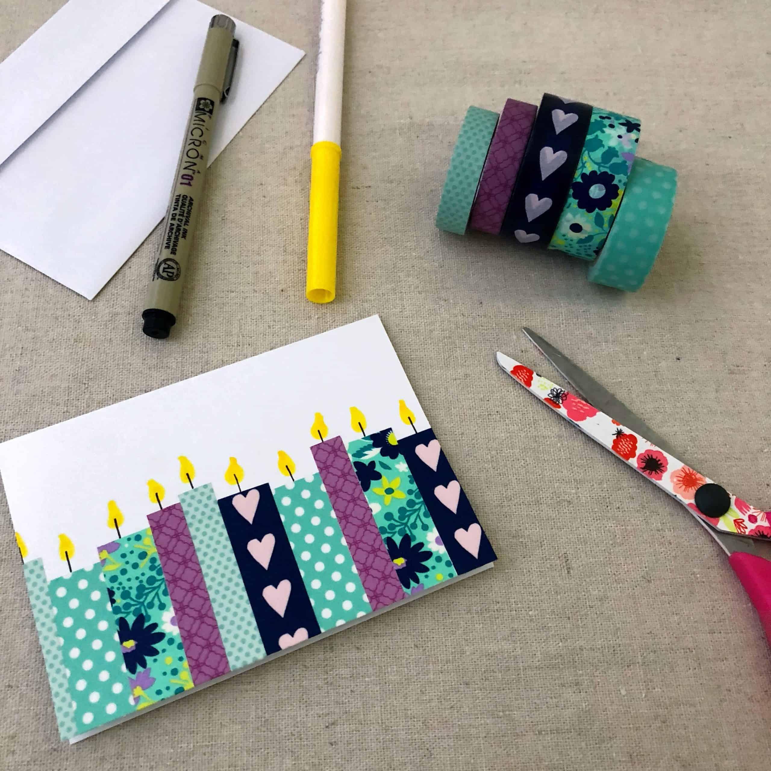Easy Washi Tape Design
