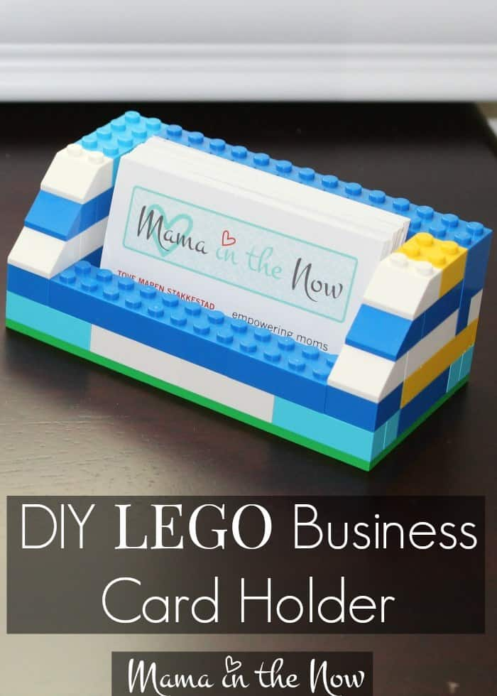 Show Your Playful Side With Lego Business Card Holders