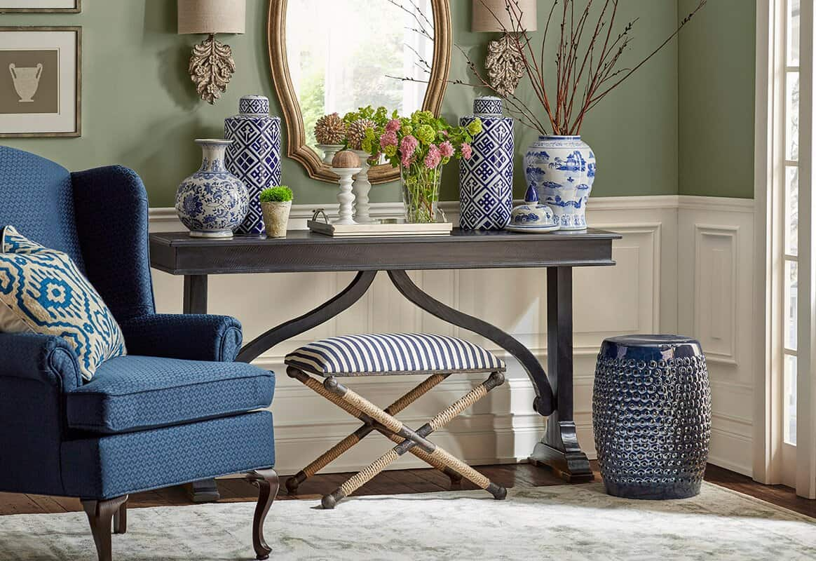 Find Blue and White Ceramics for an Elegant Summery Feel