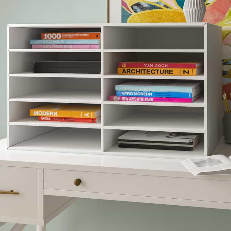 17 Scrapbook Paper Storage Ideas