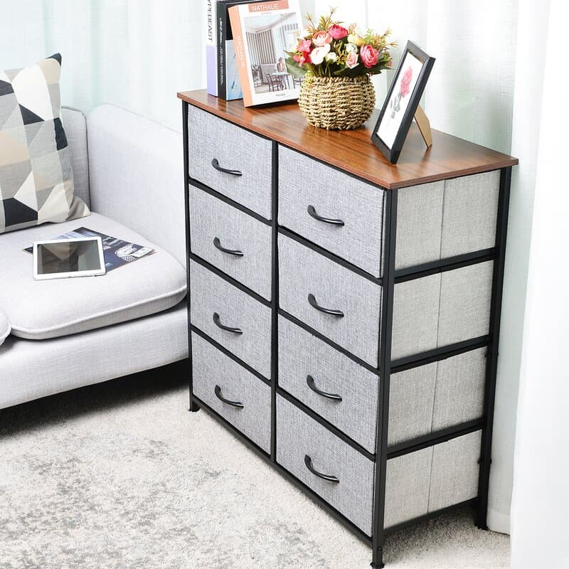Try a Fabric Drawer Set