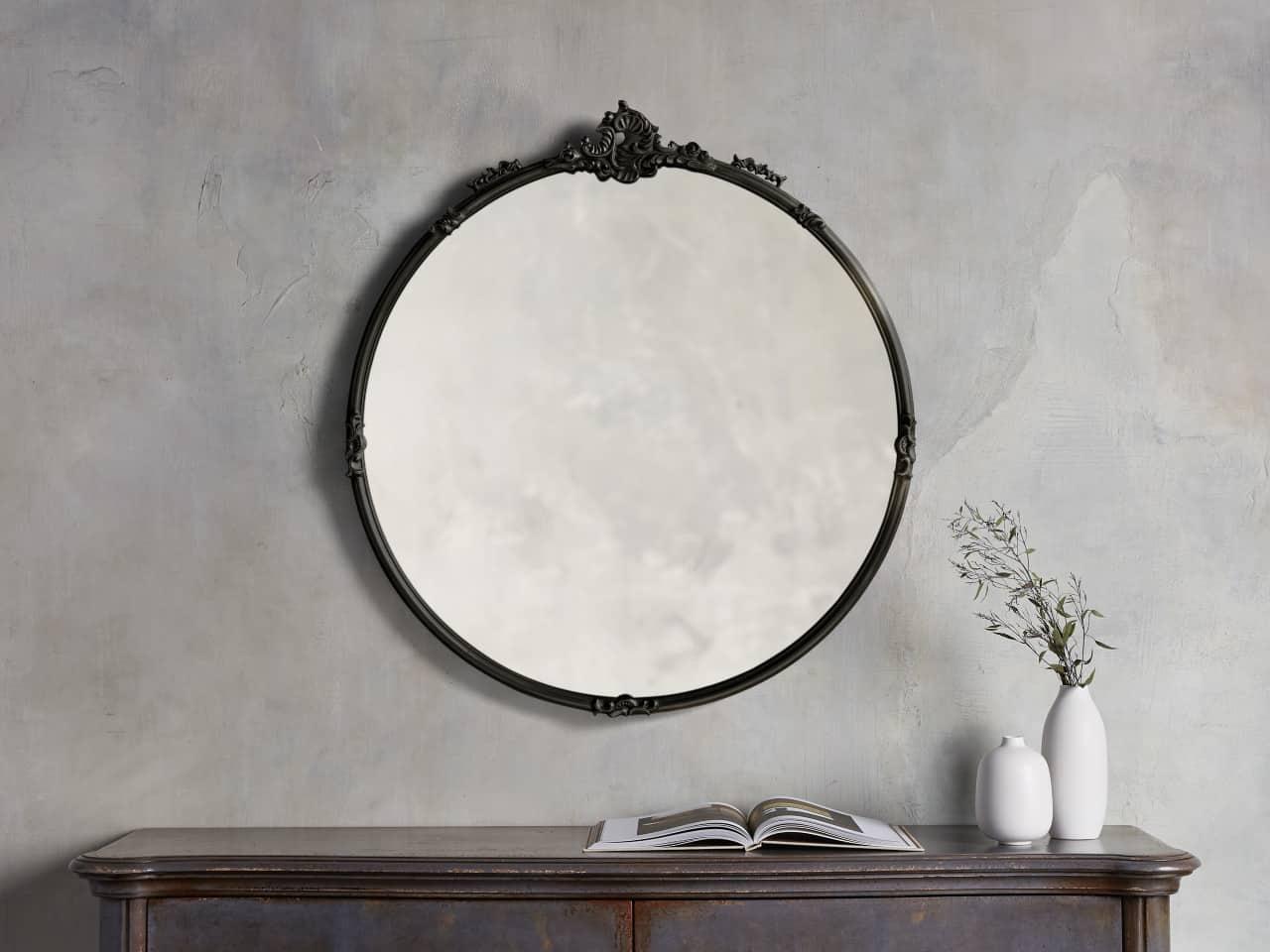Amelie Round Mirror