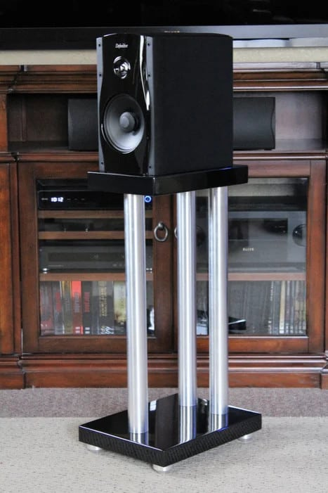 Modern Maple and Aluminum Stands