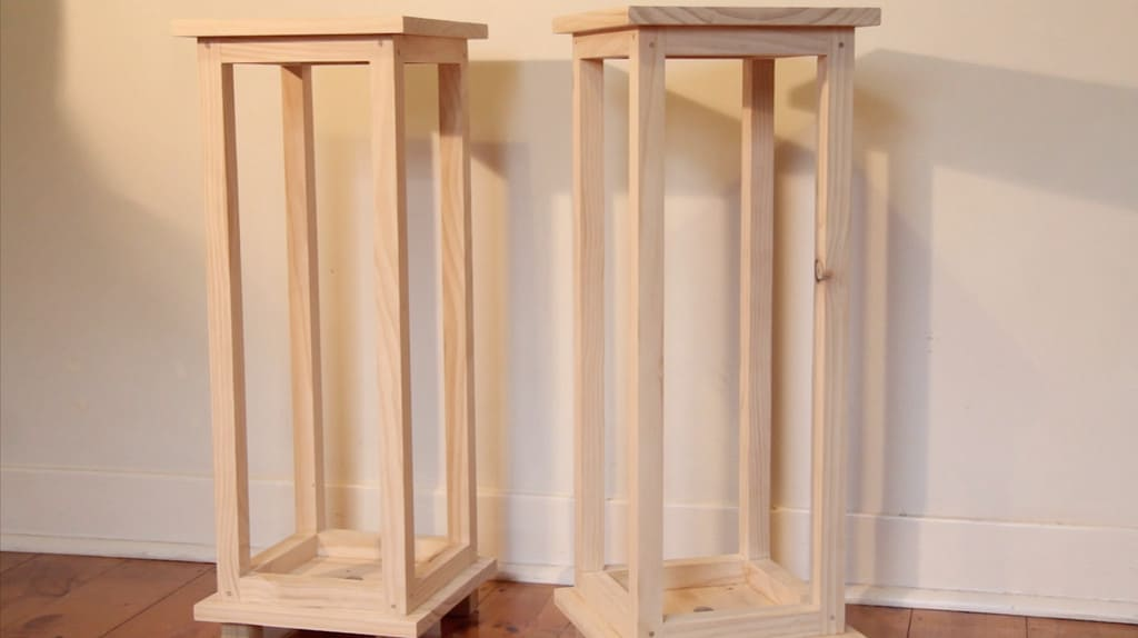 Attractive, Basic Wooden Speaker Stands