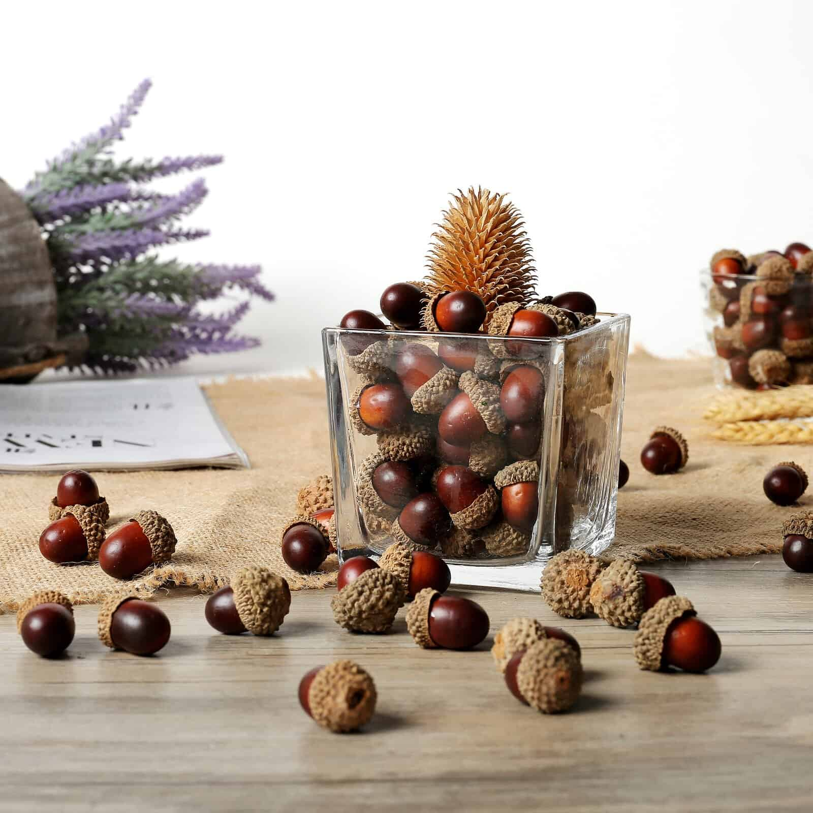 Use Evergreens, Acorns, and Pinecones to Decorate