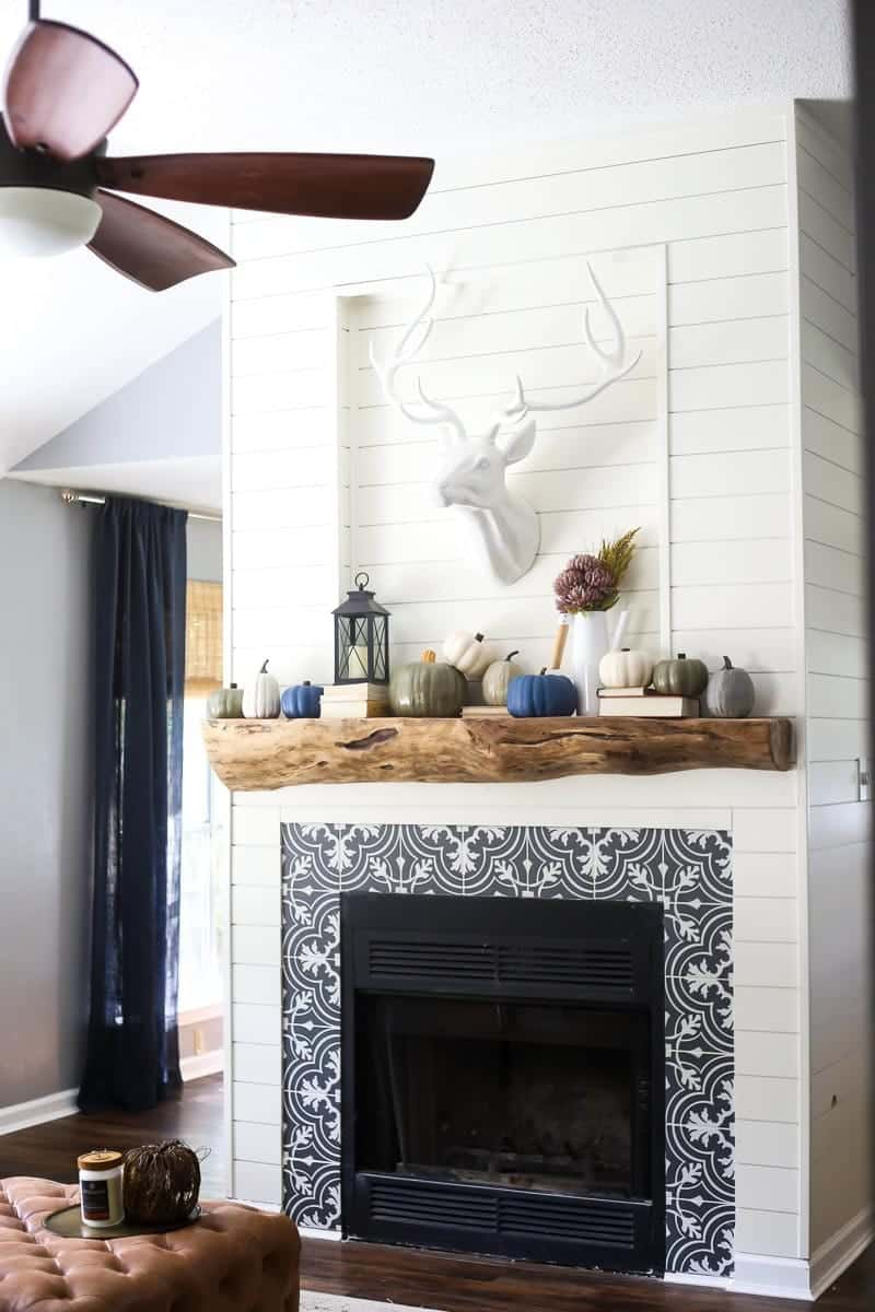 Use Tiling to Make Your Fireplace Stand Out