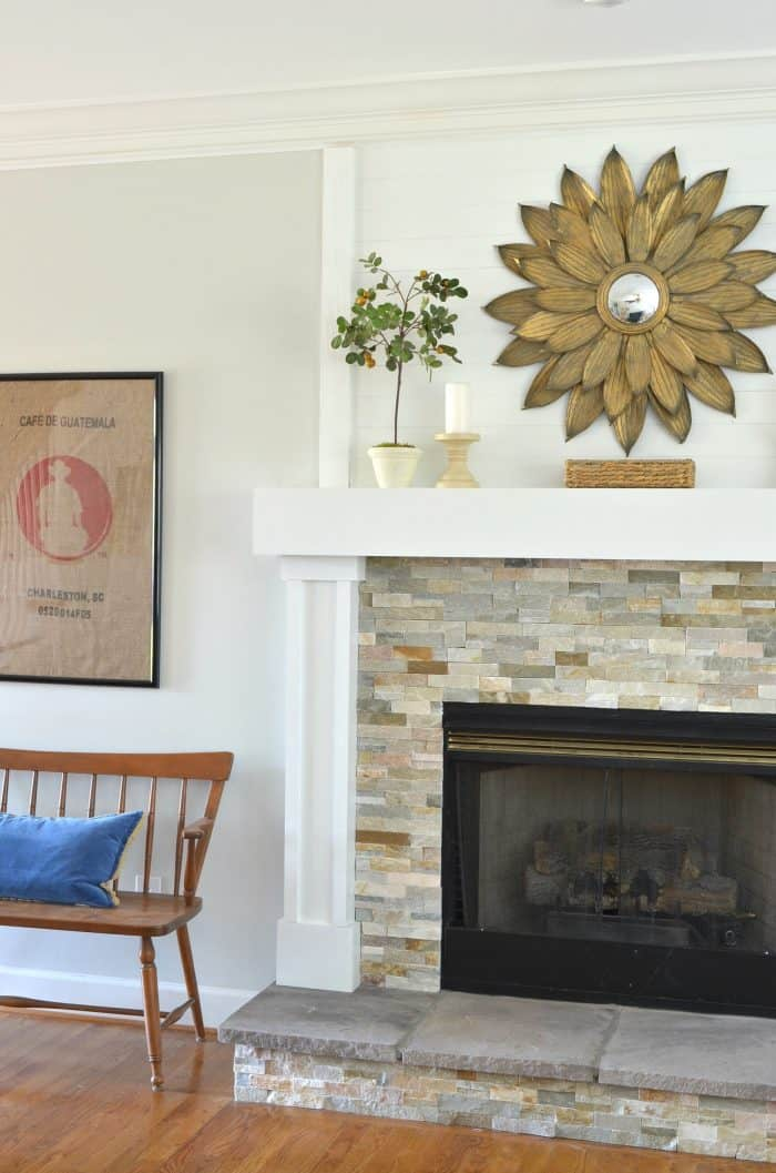 Add a Step With a Raised Hearth Fireplace