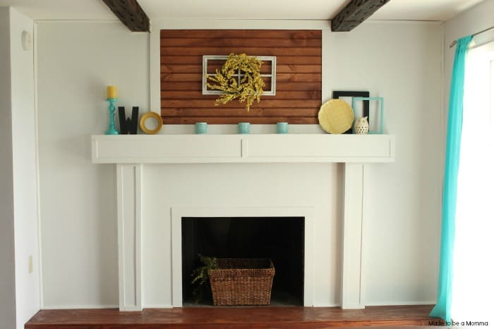 Use Drywall and Wood Accents for a Smooth Look
