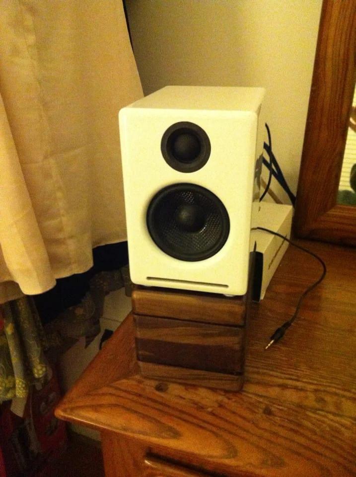 Desktop Speaker Stands for Audioengine A2 Speakers