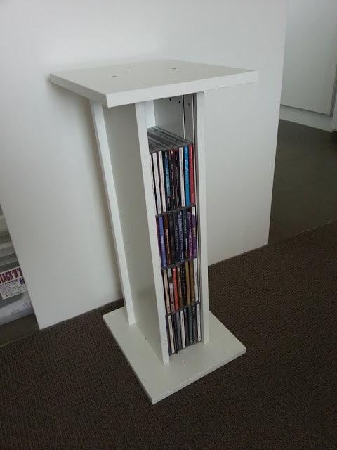 Ikea Upcycled CD Holder Speaker Stand
