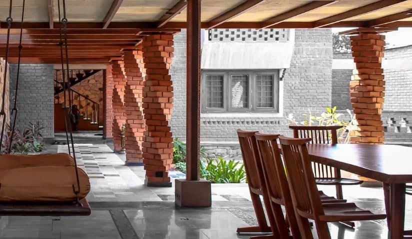 Porch Columns with a Twist