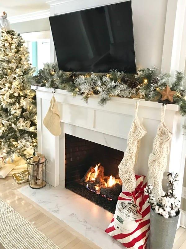 Add Cheerful Seasonal Decor to Brighten It Up