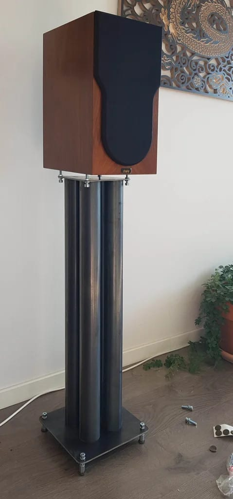 No-Weld Metal Speaker Stands