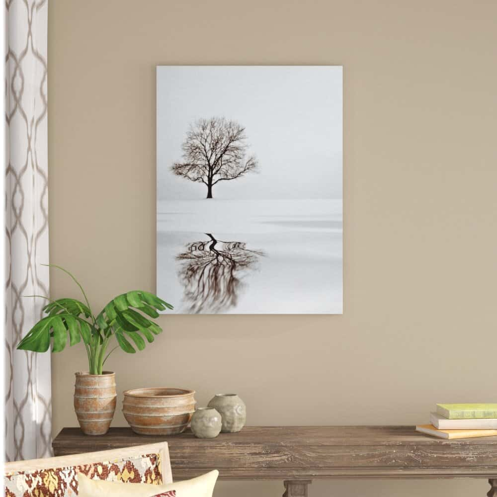 Winter Scene Paintings or Photos