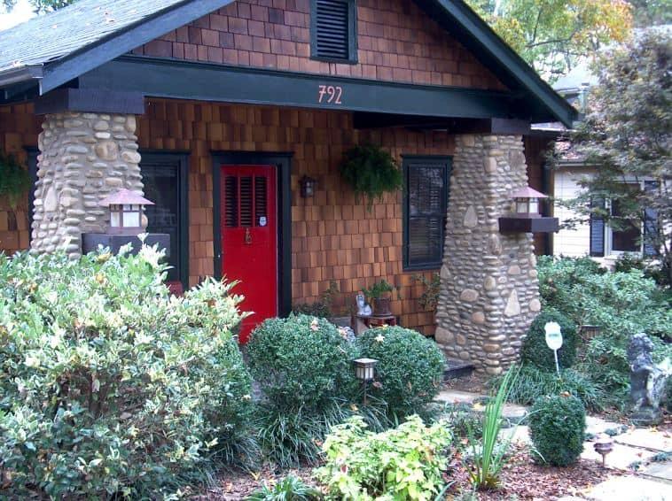 Fairytale Stone Porch Columns