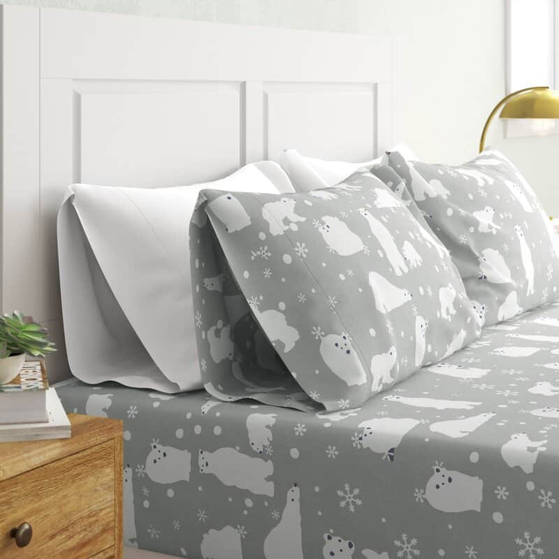 Change Up the Bedroom with Some Snowy Critters