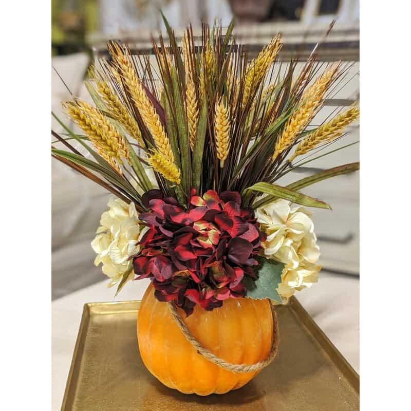 Set Out a Unique Autumn Floral Arrangement