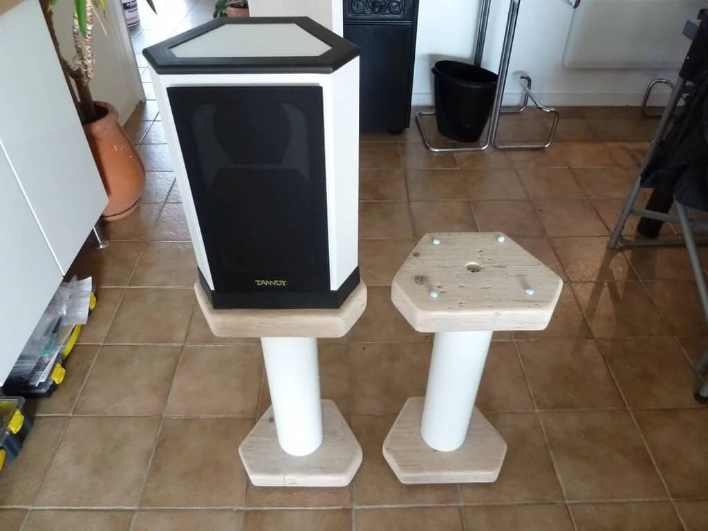 Upcycled Scrap Wood Stands
