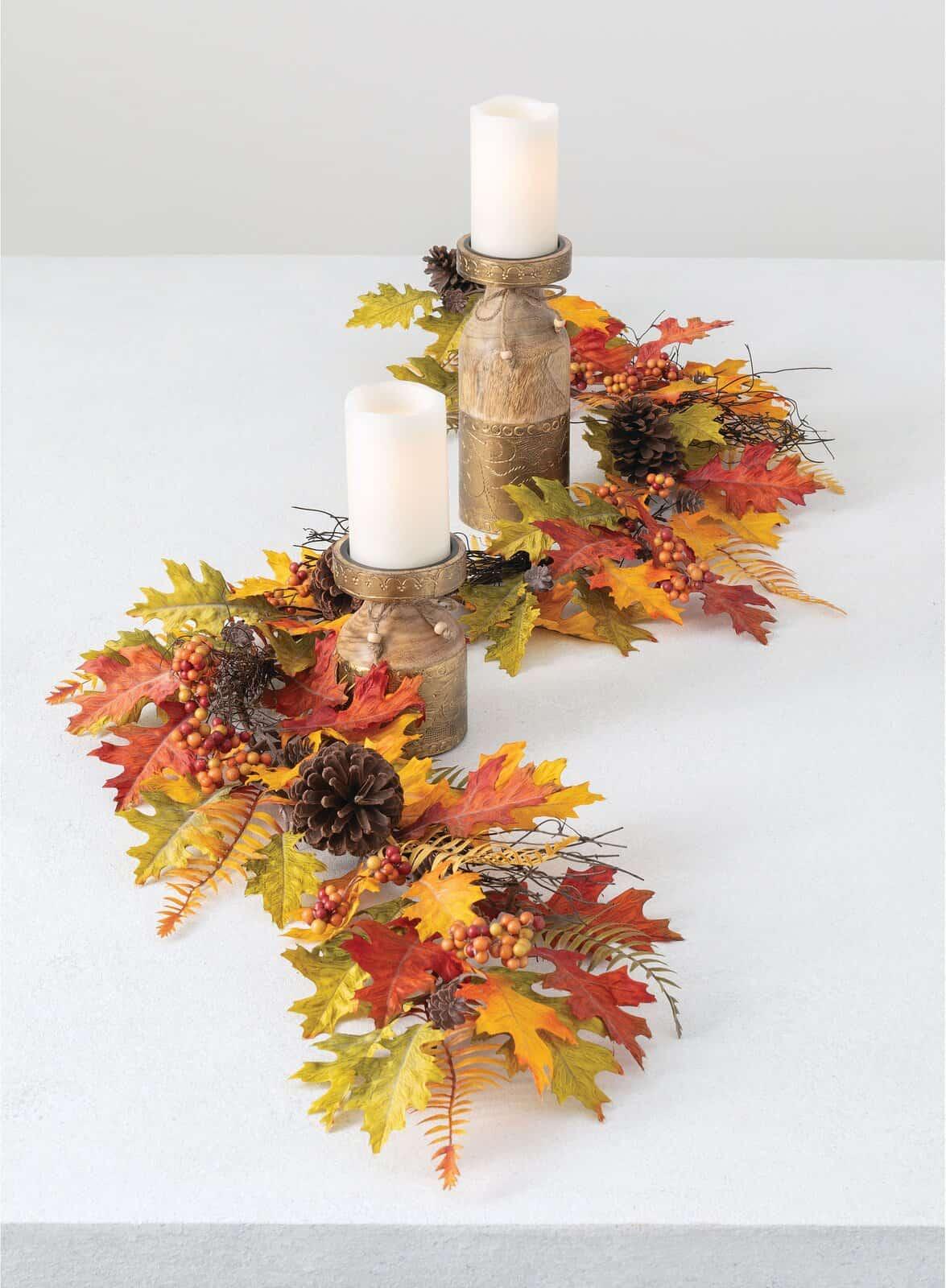 Craft a Fall Centerpiece