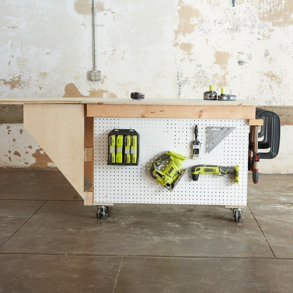 All-Terrain Workstation and Storage in One
