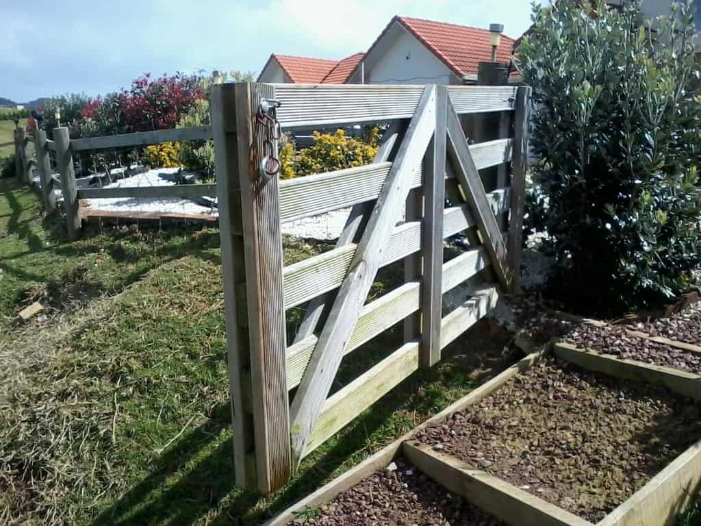 Simple Garden Gate