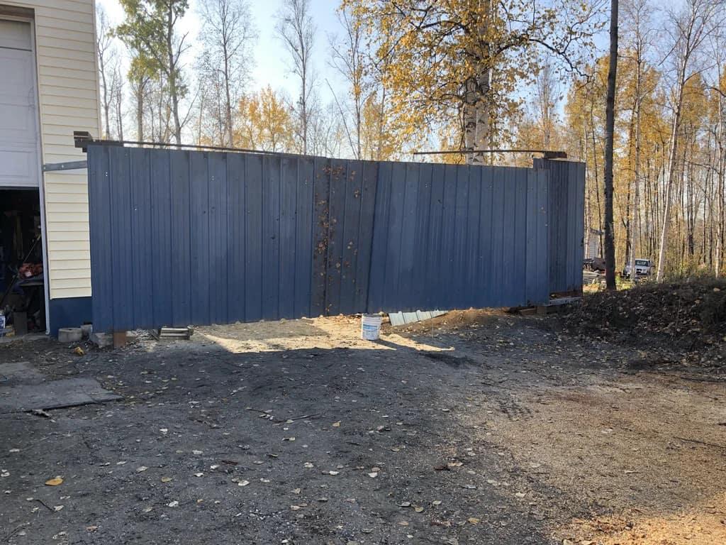 Sturdy Yard Gate
