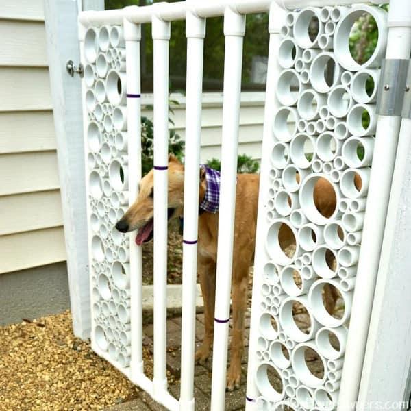 Decorative PVC Gate