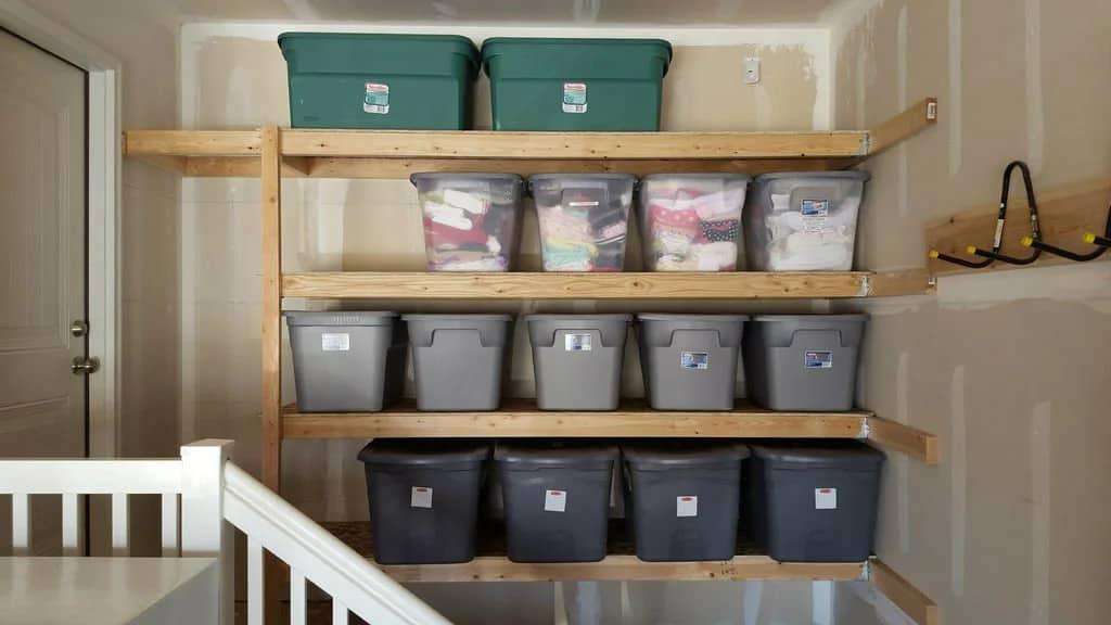 Super Simple Storage Shelves