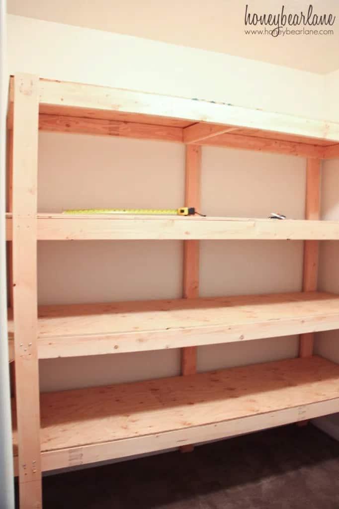 Heavy-Duty Free-Standing Shelves