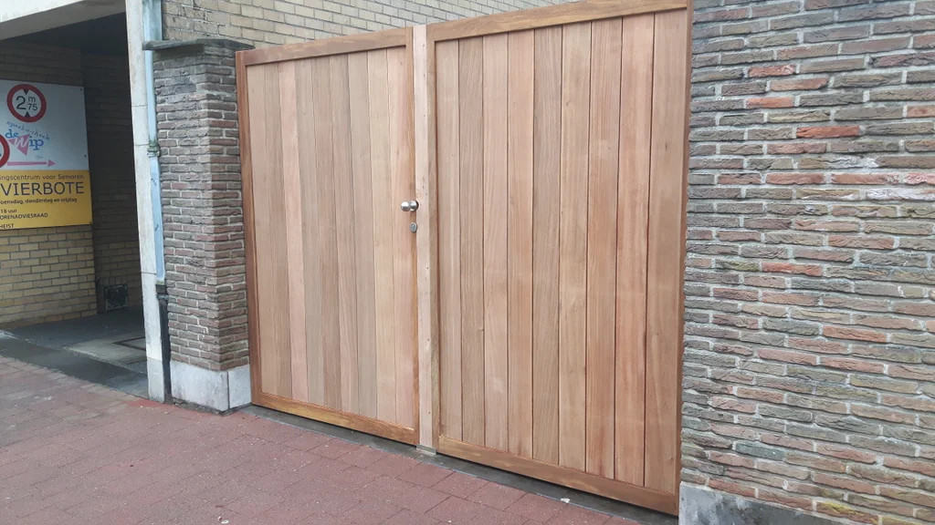 Gorgeous Hardwood Gate