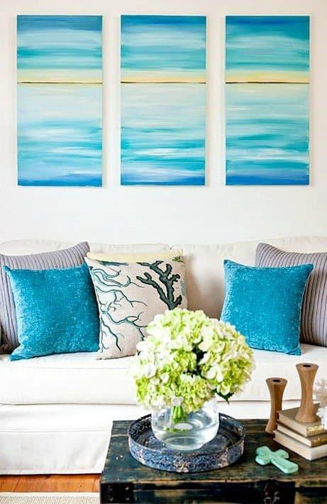Easy Ocean Art Canvases