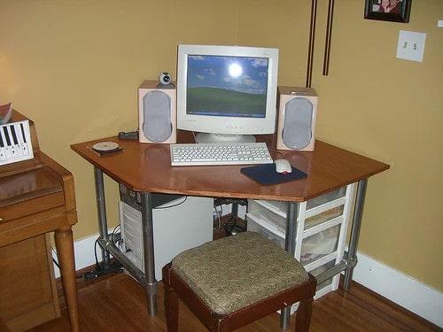 Customizable Industrial Style Desk