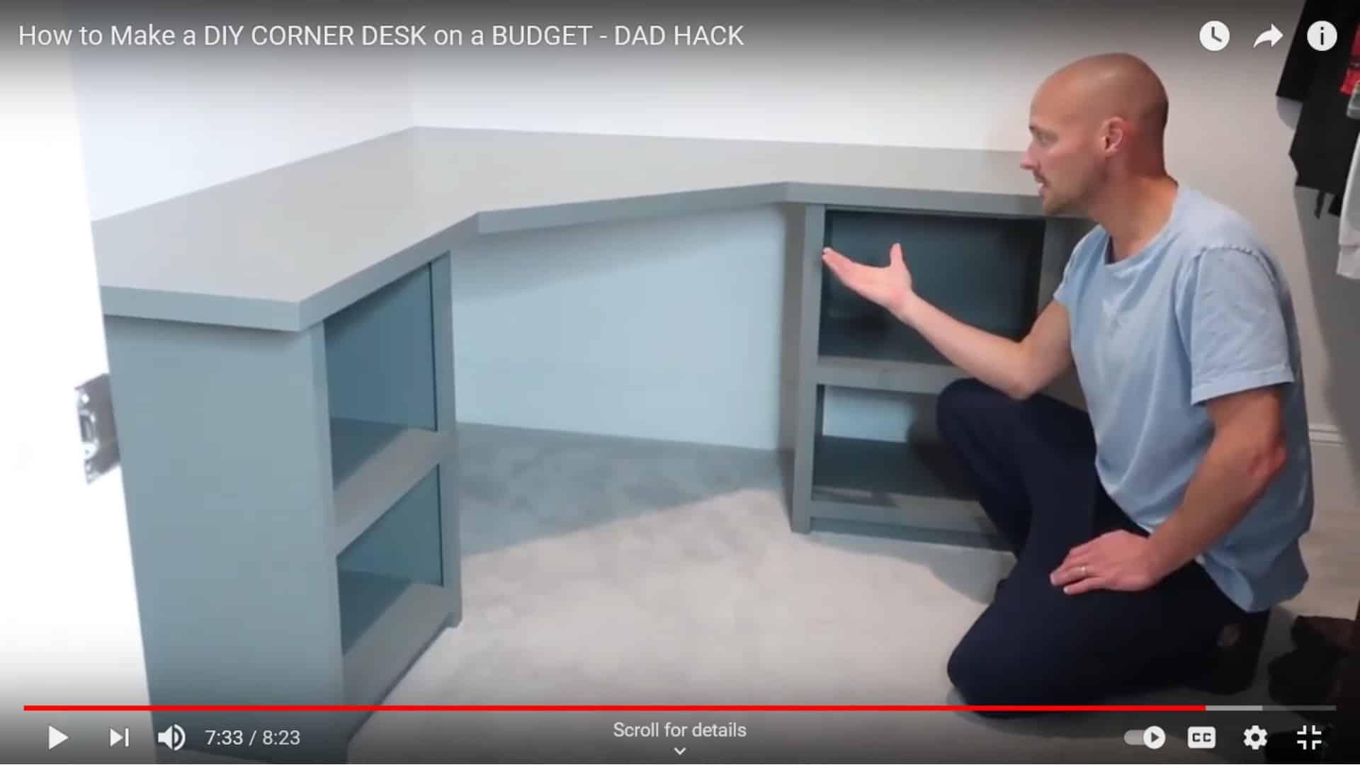 Budget-Friendly Corner Desk