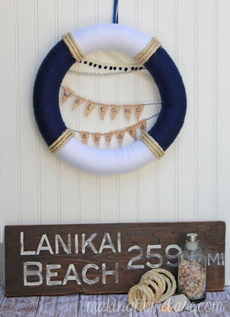 Summery Nautical Wreath