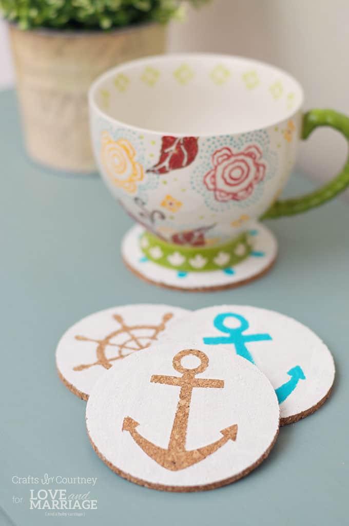 Nautical Themed Coasters