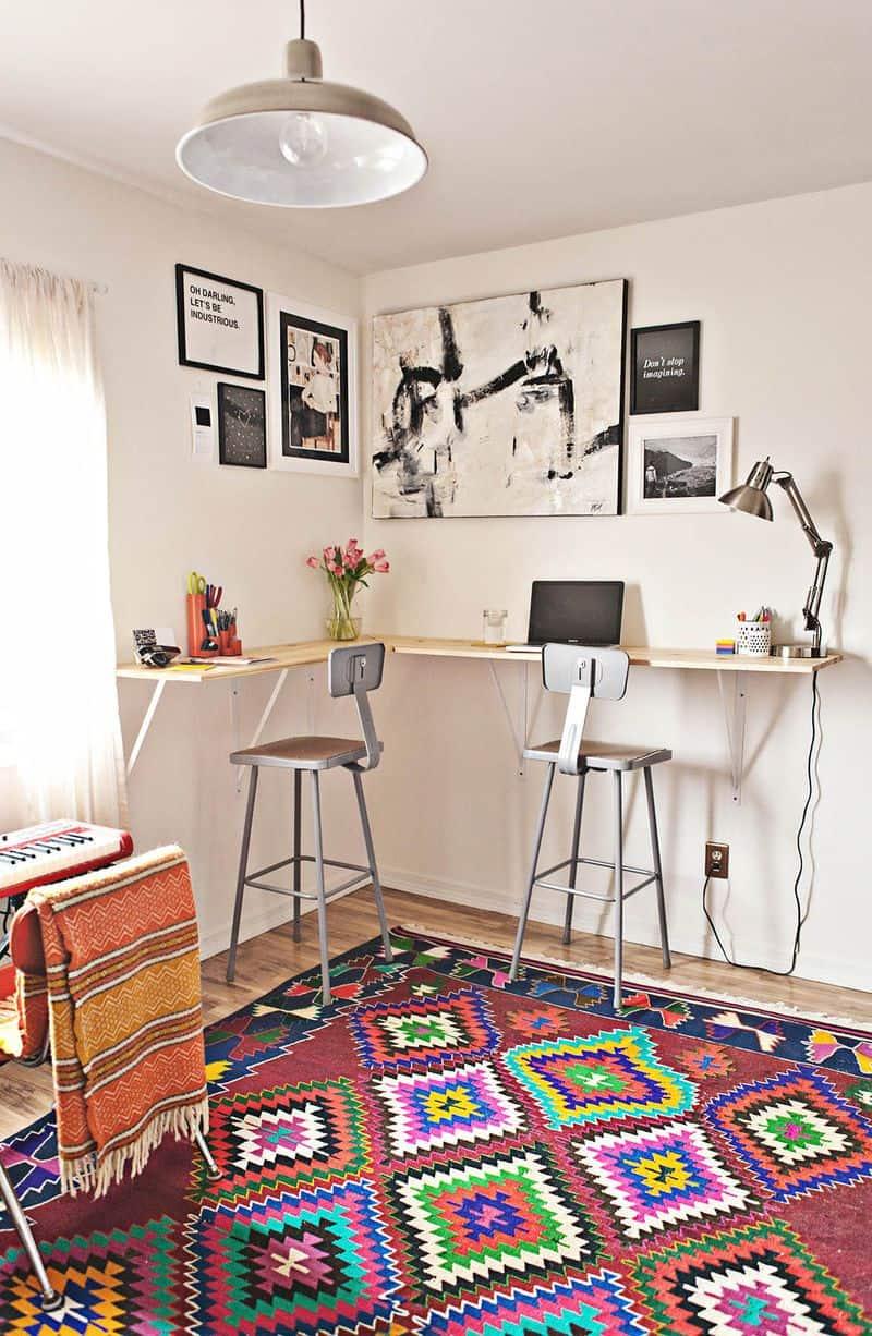 Budget-Friendly Standing Corner Desk